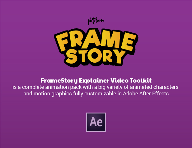 FrameStory I Explainer Character Animation Toolkit with Built In UI - 34