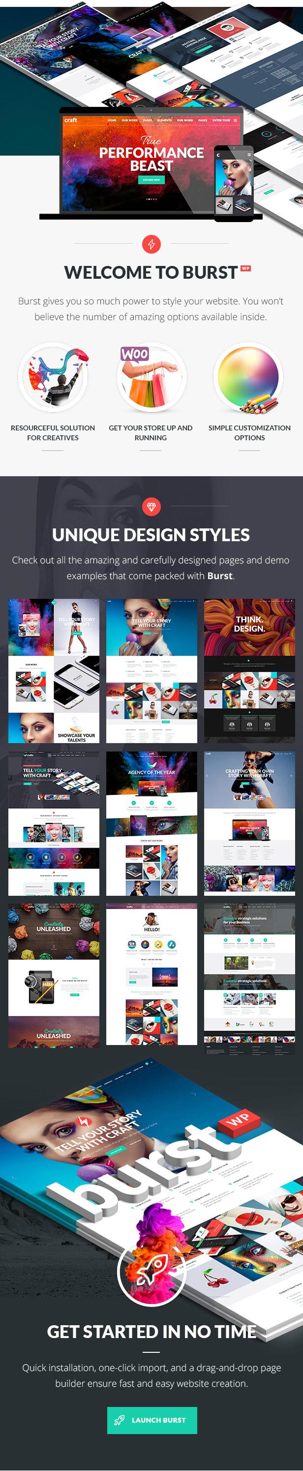 Burst - Creative Design Agency - 1