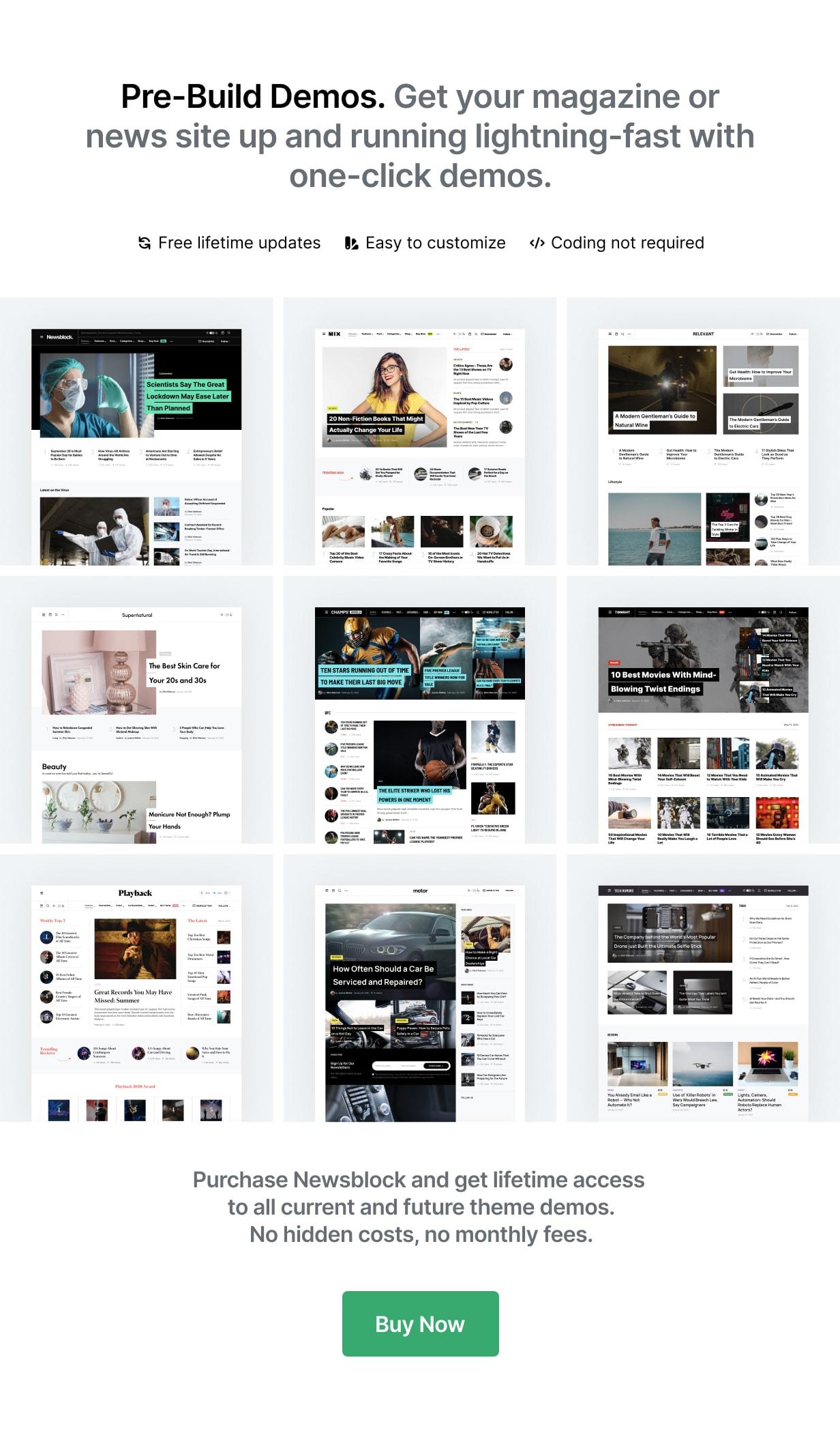 Newsblock - News & Magazine WordPress Theme with Dark Mode - 1