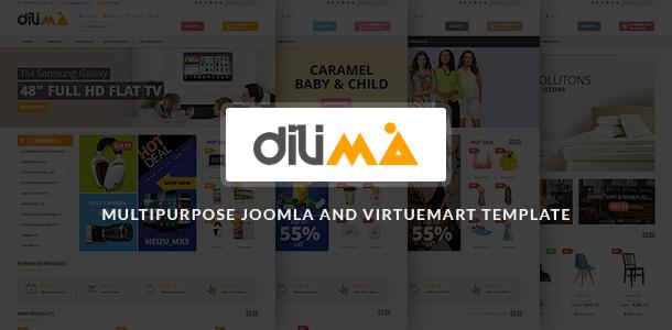 Vina Dilima - Multipurpose VirtueMart Template by VinaWebSolutions