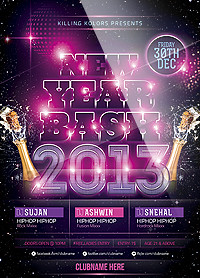 New Year Party Flyer - 60