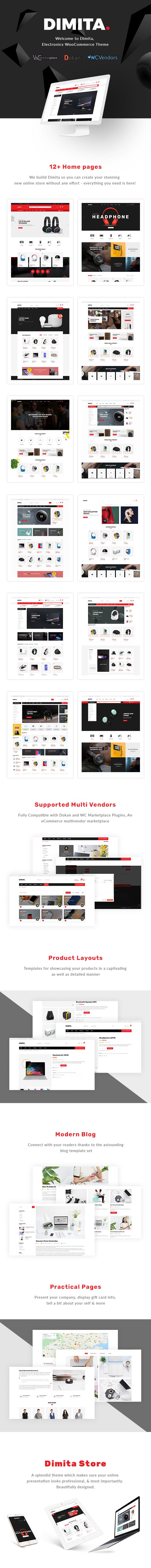 Dimita – Electronics WordPress Theme for WooCommerce - 2