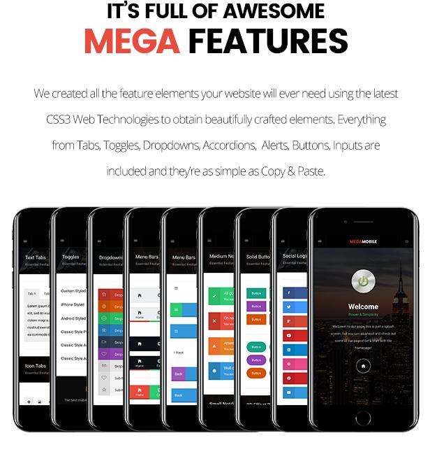 MegaMobile   PhoneGap & Cordova Mobile App - 16