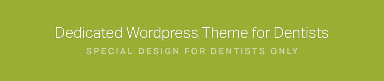 Dentist WordPress Theme | Dentist WP - 1