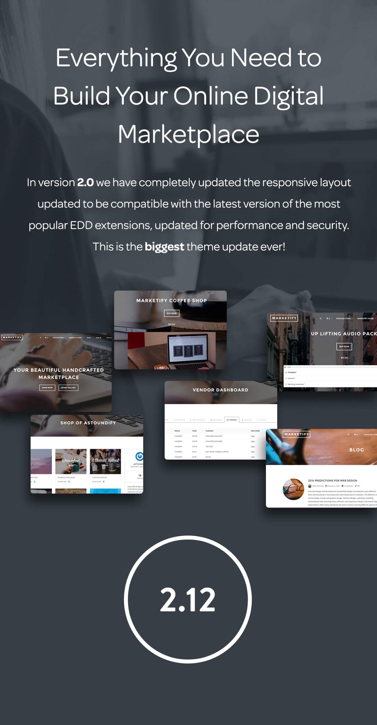 Marketify Digital Marketplace Wordpress Theme By
