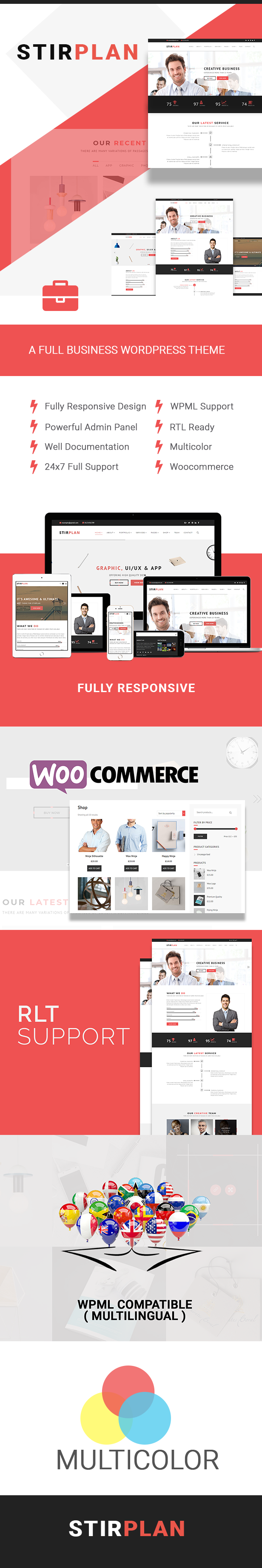 StirPlan - Business, Corporate, Agencies WordPress Theme