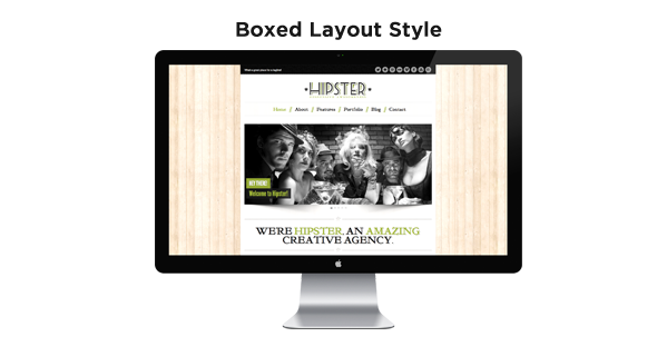 Hipster: Retro Responsive HTML5 Template - 4