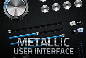 Metalic User Interface Kit