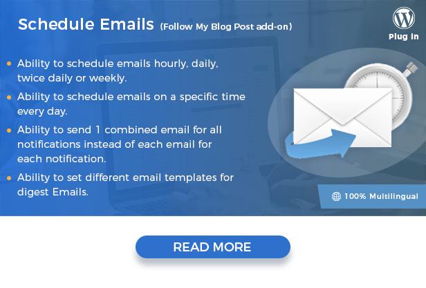 schedule emails