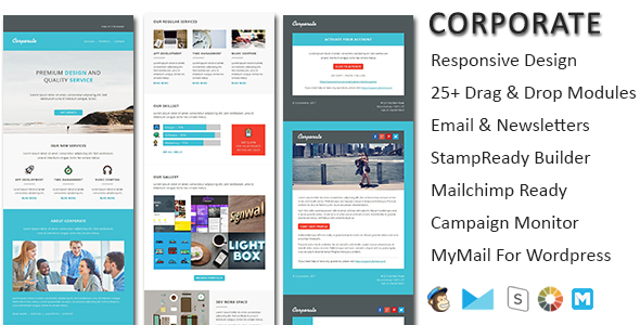 Fitness - Multipurpose Responsive Email Template with Stamp Ready Builder Access - 4