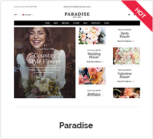 Paradise - Creative WordPress Theme