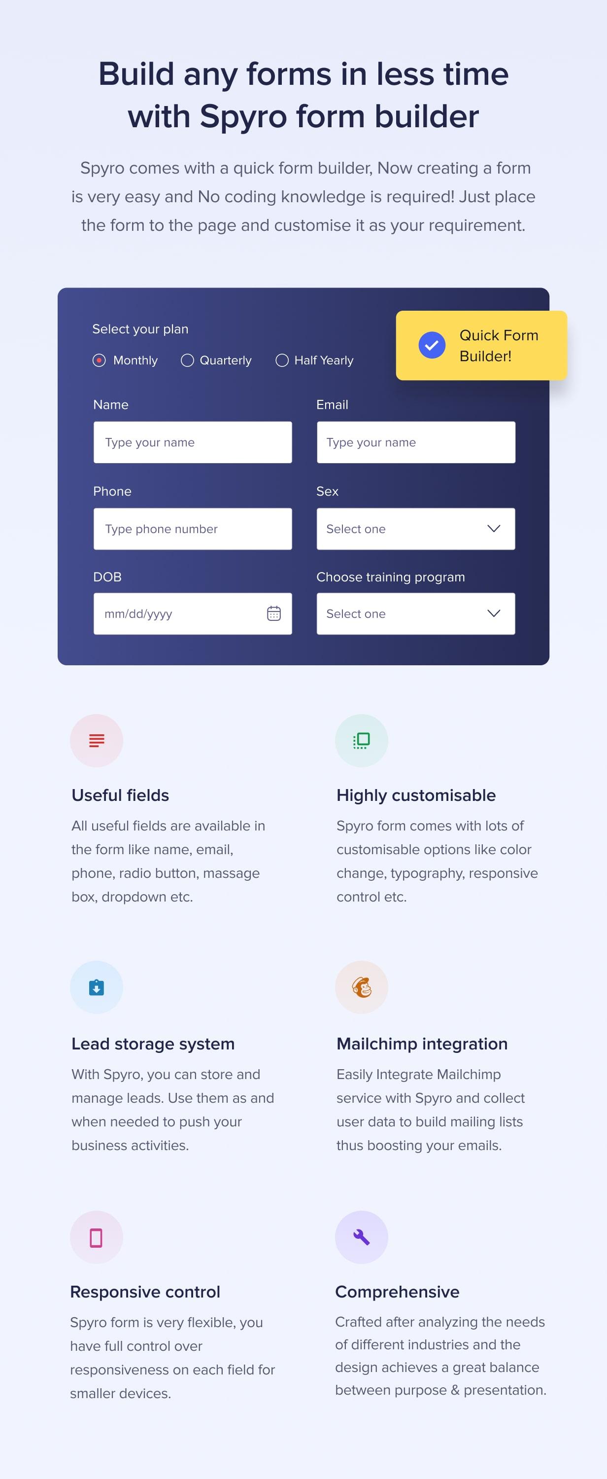 Spyro - Marketing Landing Page WordPress Theme - 3