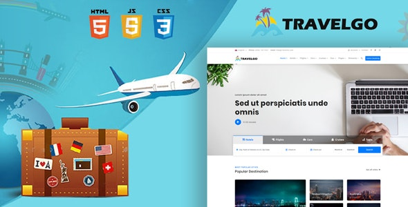 TravelGo - Travel, Tour Booking HTML5 Template - Travel Retail