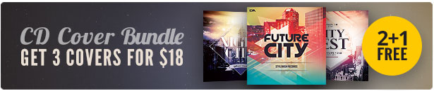 City CD Cover Bundle Vol.04