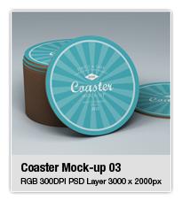 Ceramic Coaster Mock-up v5 - 6