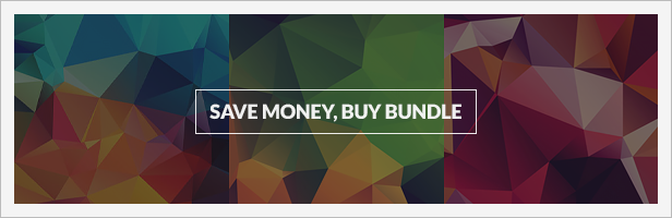 60 Low-Poly Polygonal Background Textures Bundle