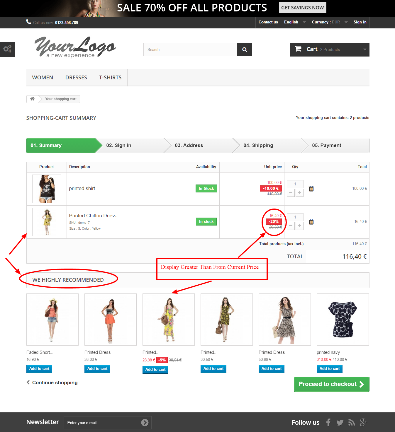 Recommended Product By Similar Price For Prestashop - 5