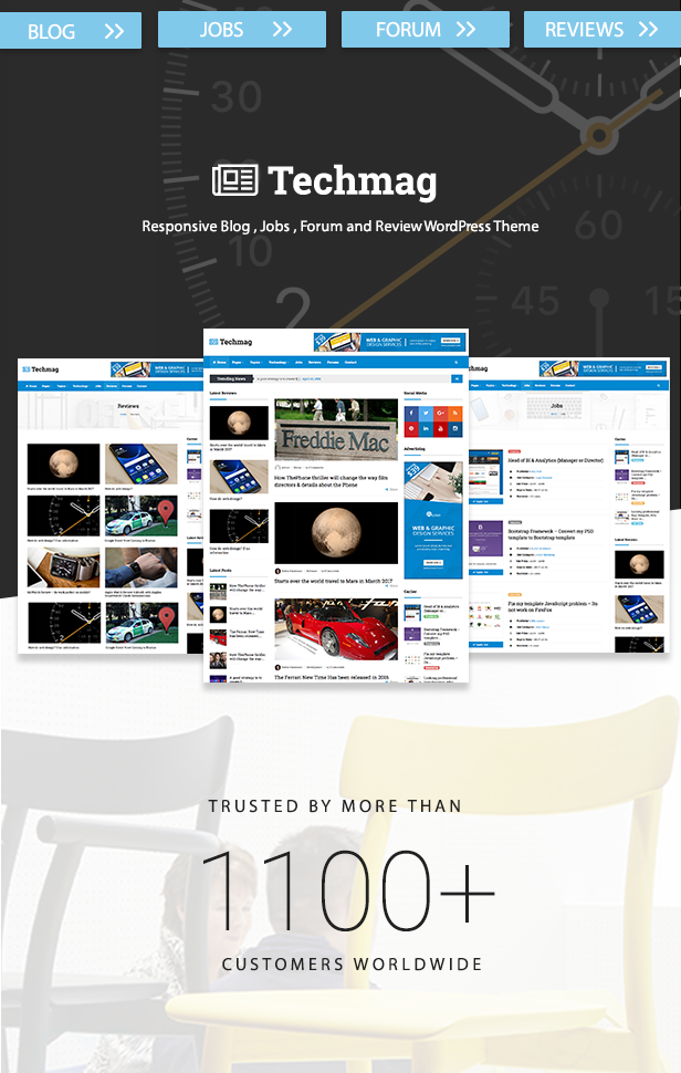 TechMag - Multipurpose WordPress News and Magazine Theme