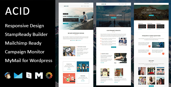 Primy - Multipurpose Responsive Email Template with Stampready Builder Access - 2