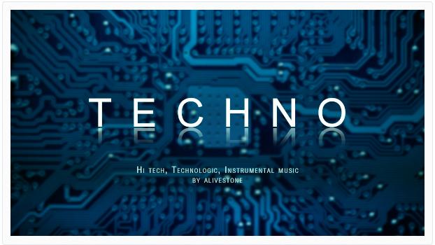 techno hi-tech music