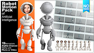 Robot Motion Pack of Artificial Intelligence