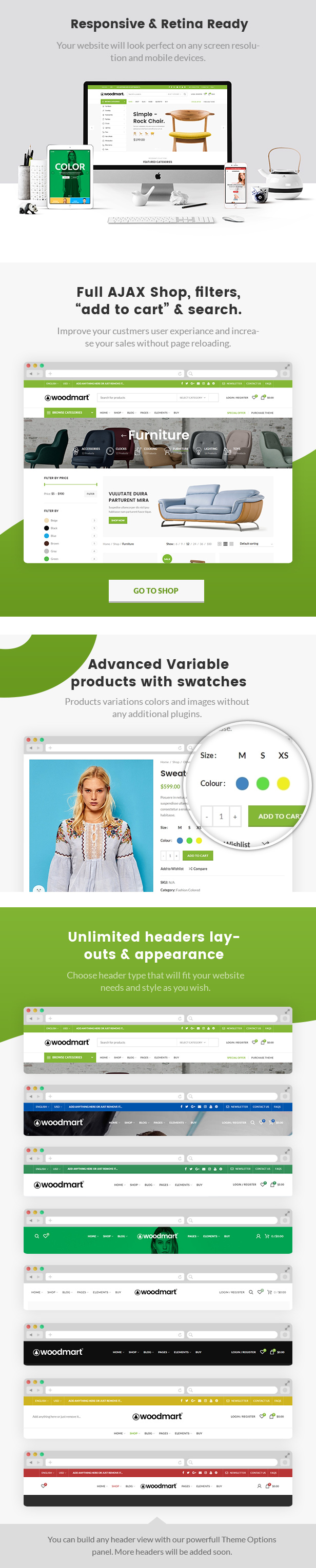 Woodmart Responsive Shopify Template By Obest Themeforest
