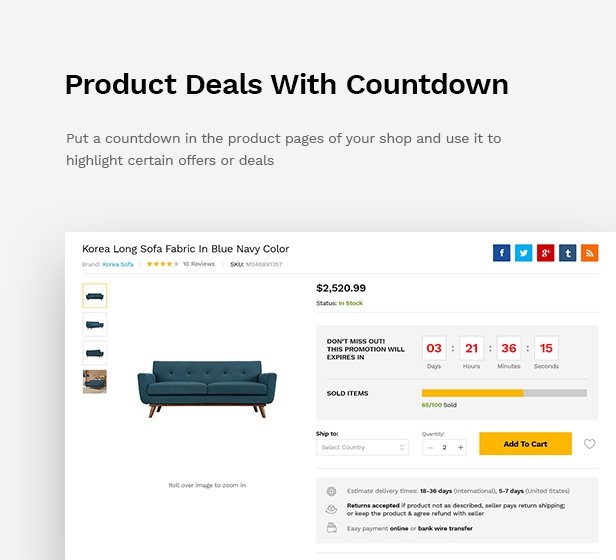 Martfury - WooCommerce Marketplace WordPress Theme - 21
