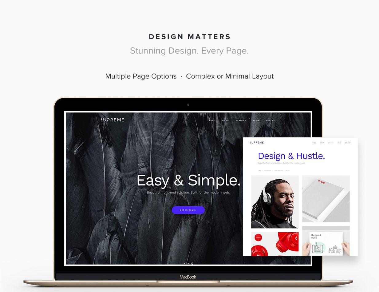 Supreme - Multi-Purpose HTML Template - 1