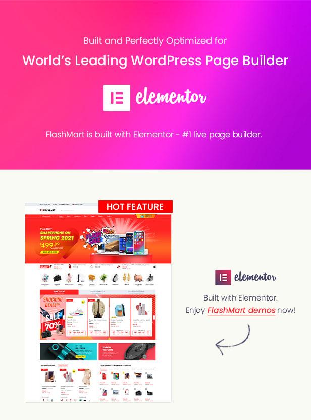 FlashMart - Multipurpose Elementor WooCommerce WordPress Theme - Elementor Ready