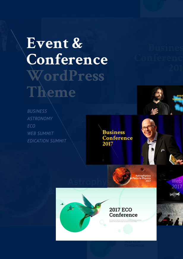BigConf WordPress Theme