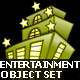 Entertainment Objects Set of 4 - 10