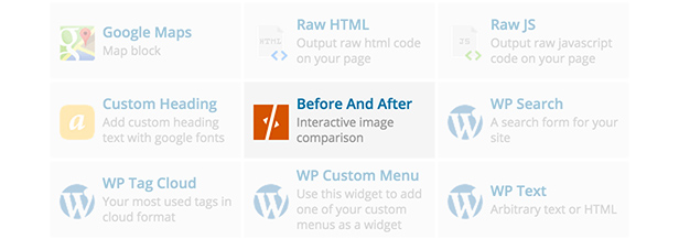 Before & After Element in WPBakery Page Builder