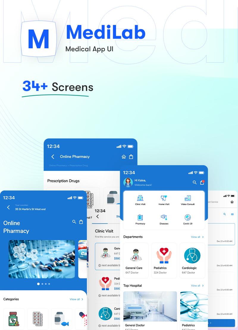 ProKit - Best Selling Flutter UI Kit - 12