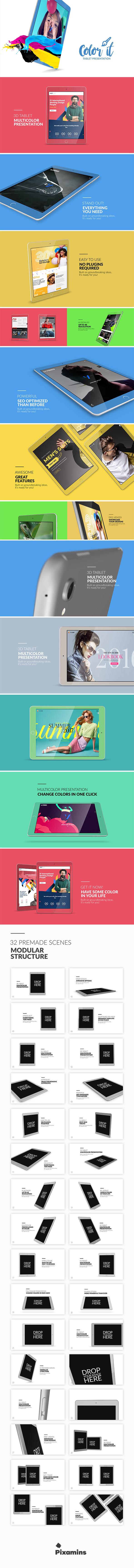 Color it - Tablet Presentation - 9