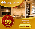 Luxury Banner ad Design with Gold Style