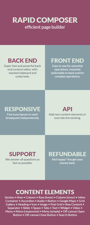 Rapid Composer - WordPress Page Builder - 1