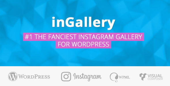 inGallery - the most complete Instagram gallery for WordPress