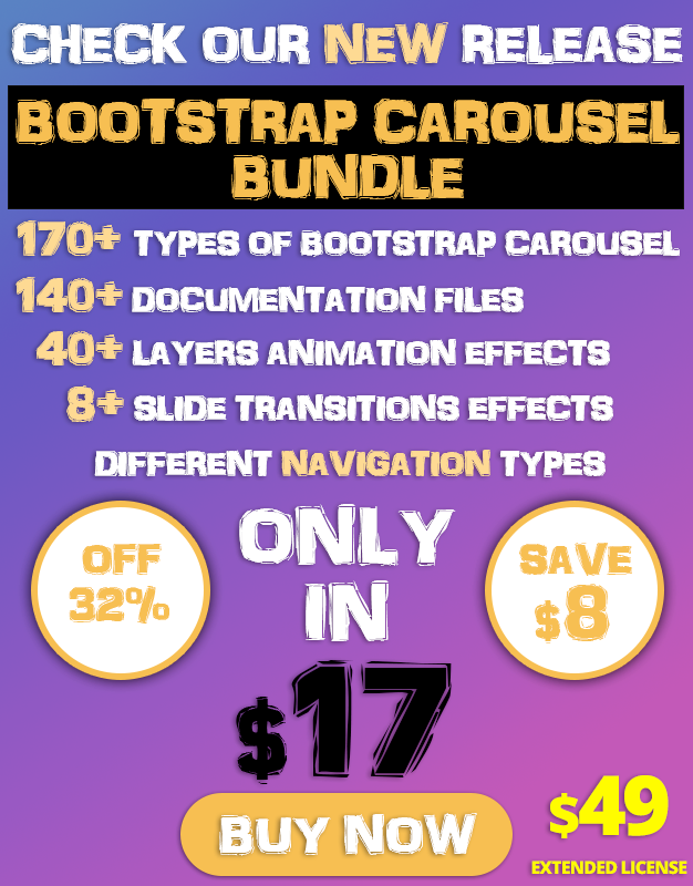Bootstrap Carousel Banner