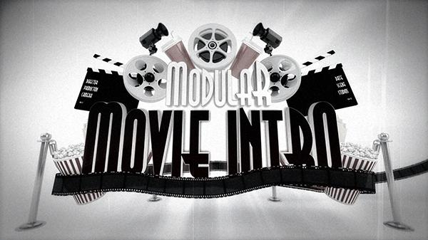 Modular Cinema Intro Logo Reveal - 4