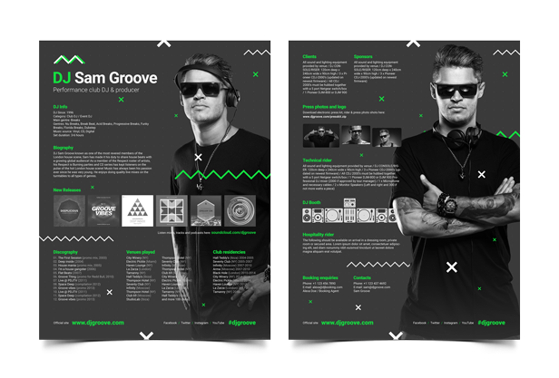GrooveLine - DJ Press Kit
