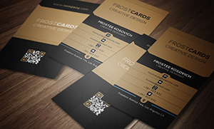 Creative Vision Modern Business Card Template 04 - 4