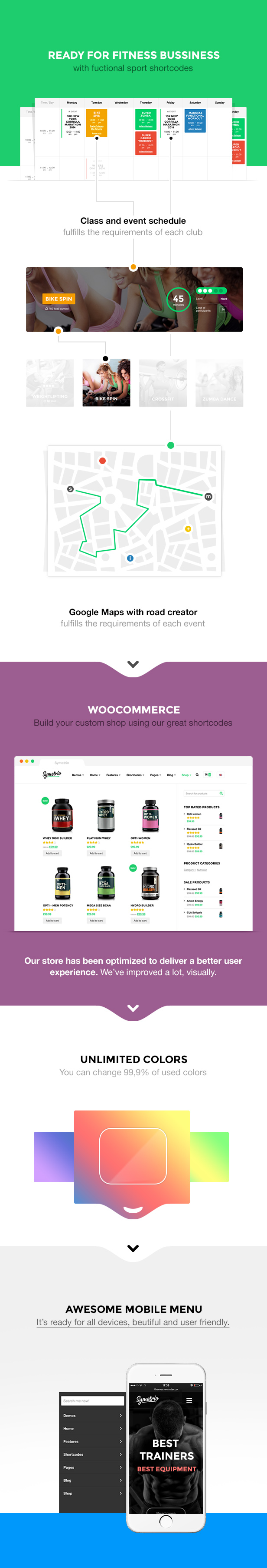 Symetrio - Gym & Fitness WordPress Theme - 3