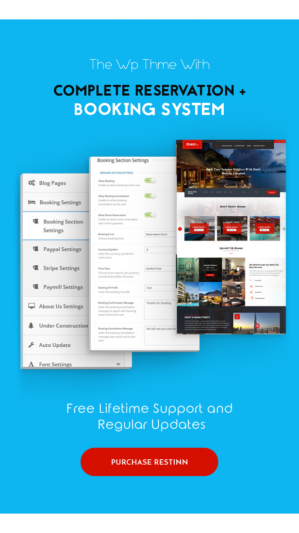 Restinn- Resort and Hotel Booking System WordPress Theme - 4