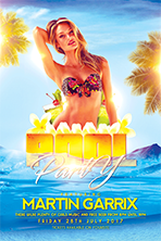 Birthday Party Flyer Template 1 - 7