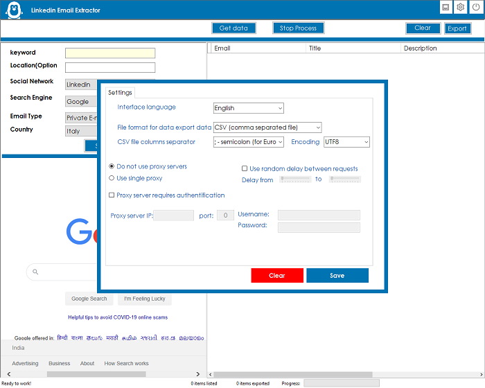 LinkedIn Emails Scraper and Extractor - 3