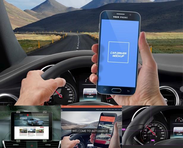 Phone S6 High Resolution Mockup Set  - 6