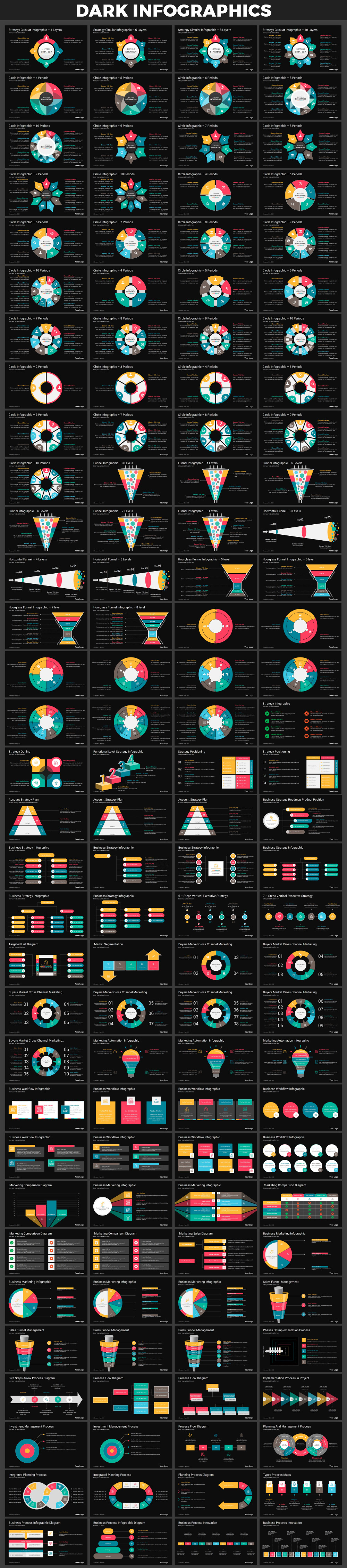 Infographics PowerPoint Bundle - 22