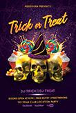 Trick or Treat Halloween Flyer