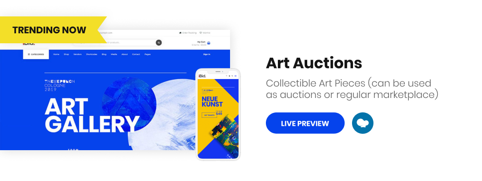 iBid - Multi Vendor Auctions WooCommerce Theme - 12