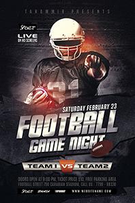 96-Football-game-night-flyer